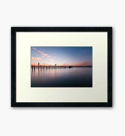 Minimum Framed Print