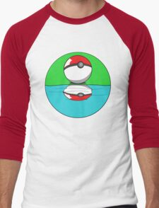 Self-Reflection Men's Baseball ¾ T-Shirt