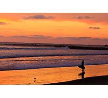 Sunset in Oceanside California Photographic Print