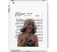 Wicked Little Town ~ Hedwig and the Angry Inch ~ Sheet Music Collection iPad Case/Skin