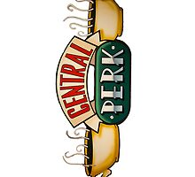 Central Perk Logo by CoExistance