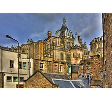 Hidden in the Cowgate Photographic Print