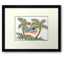 The Hollywood Riviera Framed Print
