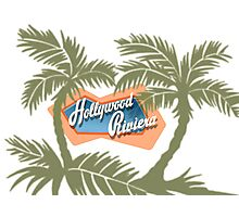 The Hollywood Riviera Photographic Print