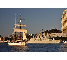 Fleet Review Ships - Old And New, Australia 2013 Photographic Print