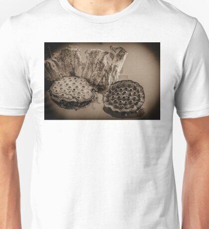 Floating Lotus Seed Pods1 Unisex T-Shirt