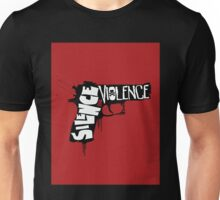 SILENCE THE VIOLENCE Unisex T-Shirt