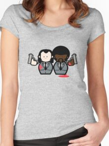 Jules and Vincent- Pulp Fiction Women's Fitted Scoop T-Shirt