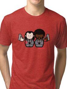 Jules and Vincent- Pulp Fiction Tri-blend T-Shirt