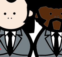 Jules and Vincent- Pulp Fiction Sticker