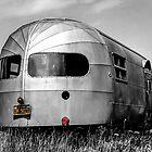 Classic Airstream Caravan.  by Ian Hufton
