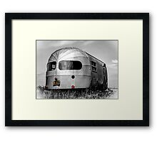 Classic Airstream Caravan.  Framed Print