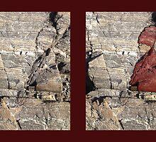Grouchy Lady in Rocks by jonsanders