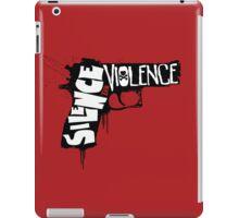 SILENCE THE VIOLENCE iPad Case/Skin