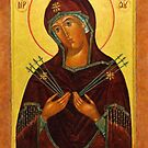 Eastern Orthodox Iconography the mother by Adam Asar