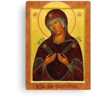 Eastern Orthodox Iconography the mother Canvas Print