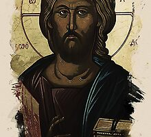 Eastern Orthodox Jesus by Adam Asar