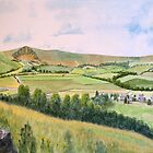 Mam Tor. Peak district.  by John Rees by HurstPainters