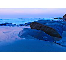 Dawn on California Beach Photographic Print