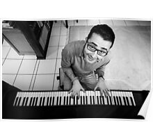 Me on the piano Poster