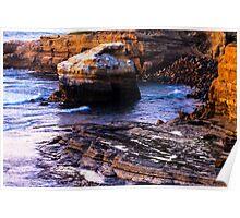 Sunset Cliffs San Diego Poster
