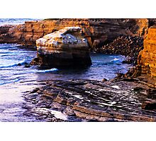 Sunset Cliffs San Diego Photographic Print