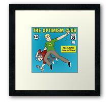 The Optimism Club Logo - Standard Framed Print
