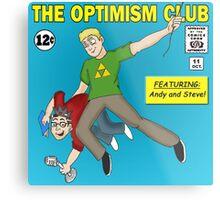 The Optimism Club Logo - Standard Metal Print