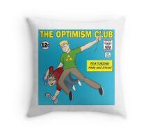 The Optimism Club Logo - Standard Throw Pillow