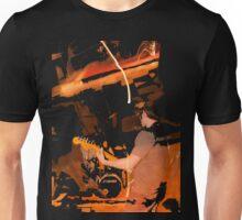 Indigo Yellow T-Shirt - Fire Unisex T-Shirt