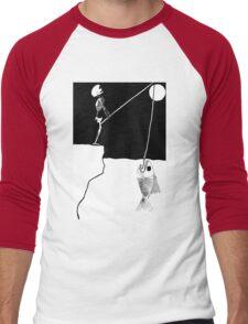 Night Fishing Men's Baseball ¾ T-Shirt