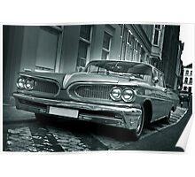 Ford Pontiac Mono Poster