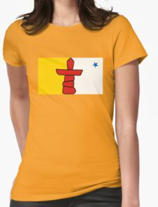 Flag of Nunavut - High quality authentic HD version T-Shirt