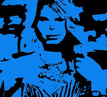 Taylor Swift Blue Artwork  by Double-T