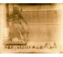 Vintage Polaroid Photo of The Predator, Venice Beach Photographic Print
