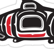 Totem Salmon Sticker