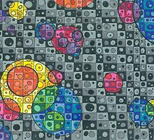 Color Bubbles by Sara Hooks