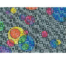 Color Bubbles Photographic Print