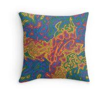 Random Rainbow Throw Pillow