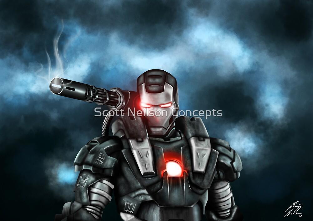 The War Machine by Scott Neilson Concepts