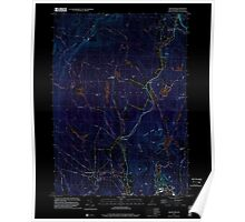 USGS TOPO Map New Hampshire NH Grantham 329582 1998 24000 Inverted Poster