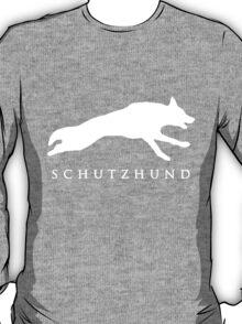 German Shepherd Sport Dog / Schutzhund / White T-Shirt