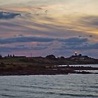Evening Light, Low Head Lighthouse Tasmania by fotosic