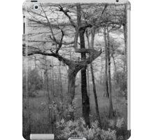 Black and White Swamp iPad Case/Skin