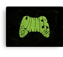 Winner Stays On Canvas Print