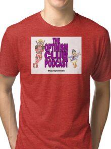 The Optimism Club - Merc & Duck Tri-blend T-Shirt