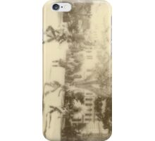 Polaroid Photo of Native American Dancers in Los Angeles iPhone Case/Skin