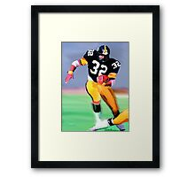 Legands Of the Game - Franco Harris Framed Print