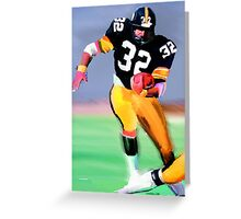 Legands Of the Game - Franco Harris Greeting Card