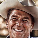 Ronald Reagan iPad Case by ipadjohn